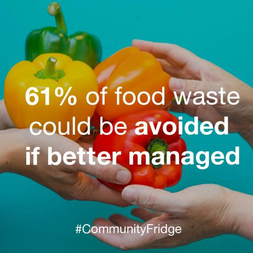 Designs and promotion for the Community Fridge Network which aims to reduce food waste through the act of sharing food in the community.